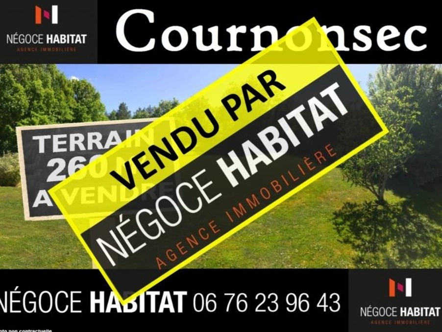 Vente Terrain Cournonsec  130 000 €