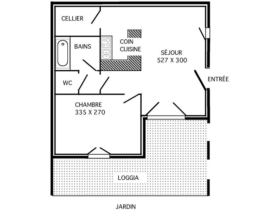 Vente Appartement LA CROIX VALMER 8