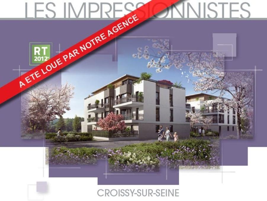 Location Appartement CROISSY SUR SEINE 1 245 €
